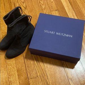 Staurt Weitzman Grey suede boots